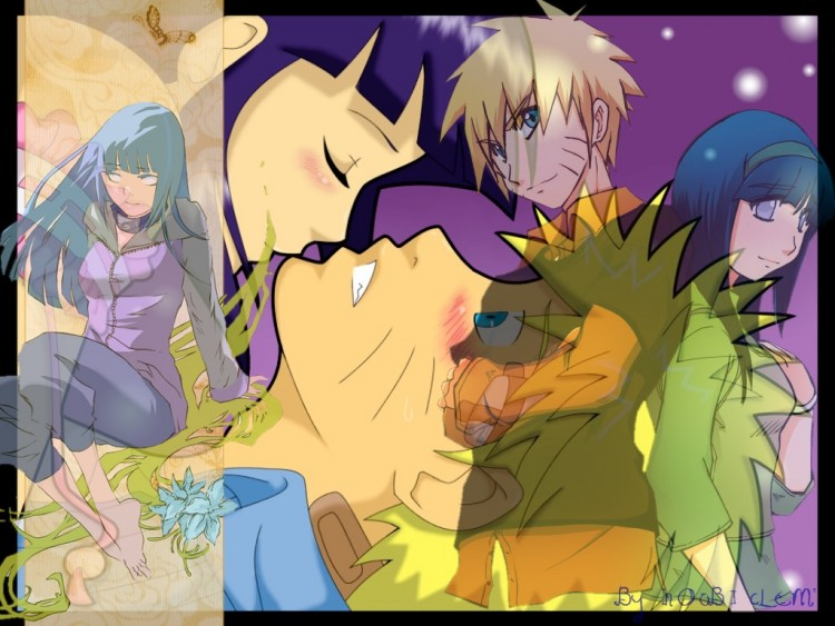 Fonds d'écran Manga Naruto Naruto + Hinata