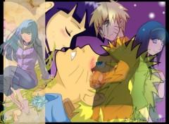 Fonds d'écran Manga Naruto + Hinata