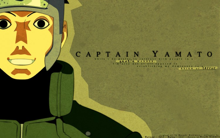Fonds d'écran Manga Naruto Captain Yamato
