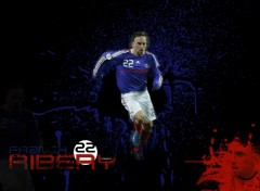 Wallpapers Sports - Leisures Franck Ribery en Equipe de France