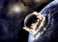 Fonds d'écran Espace meteorite