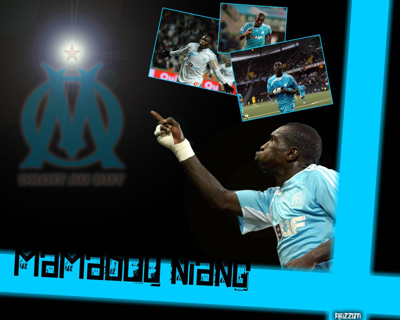 Fonds d'écran Sports - Loisirs OM Mamadou Niang - Olympique de Marseille (OM)
