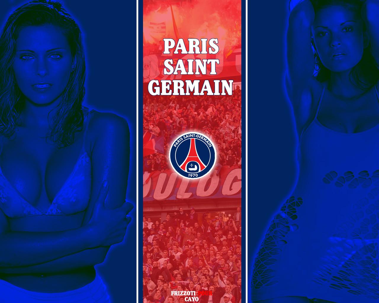 Fonds d'écran Sports - Loisirs PSG Paris Saint Germain Paris Saint Germain - Clara Morgane
