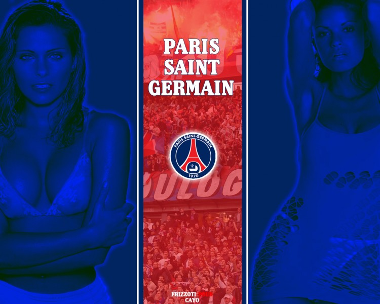 Wallpapers Sports - Leisures Football - PSG Paris Saint Germain - Clara Morgane