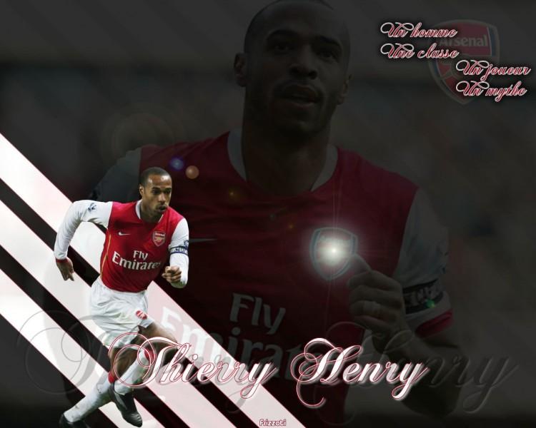 Fonds d'écran Sports - Loisirs Arsenal Thierry Henry à Arsenal