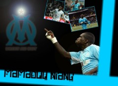 Wallpapers Sports - Leisures Mamadou Niang - Olympique de Marseille (OM)
