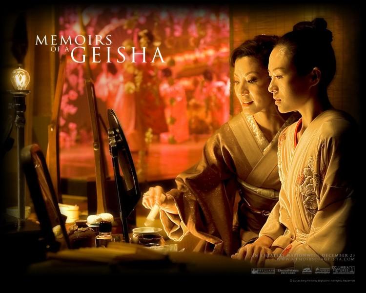 Fonds d'écran Cinéma Mémoires d'une Geisha Wallpaper N°187027