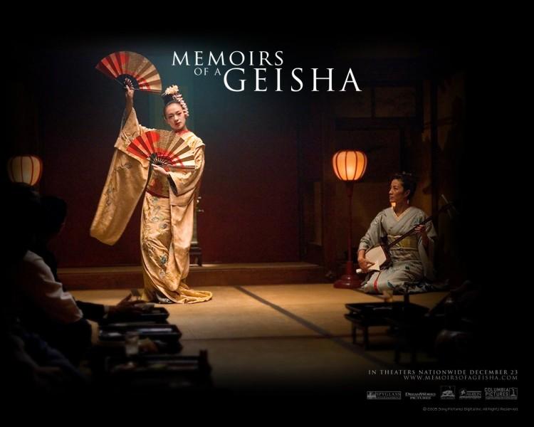 Fonds d'écran Cinéma Mémoires d'une Geisha Wallpaper N°187028