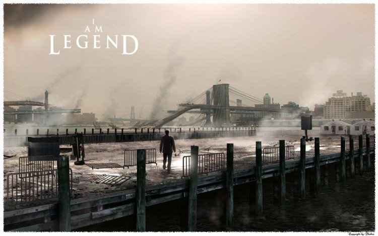 Wallpapers Movies I Am Legend Je suis une légende