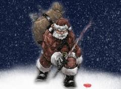 Fonds d'écran Art - Numérique Père Noël