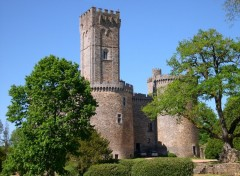 Wallpapers Constructions and architecture Chateau de Montbrun (87)