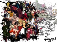 Fonds d'écran Manga K O F Adiict !!