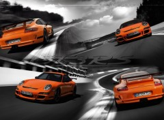 Wallpapers Cars WIDE - Porsche GT3 RS type 997