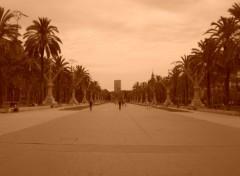 Fonds d'écran Voyages : Europe Barcelone - les champs élysées espagnols