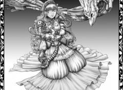 Wallpapers Digital Art Princesse Meca 1