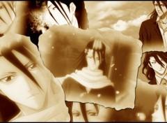 Fonds d'écran Manga Byakuya kuchiki