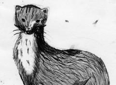 Fonds d'écran Art - Peinture animal