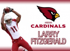 Fonds d'écran Sports - Loisirs larry_fitzgerald_wall1_yukiki