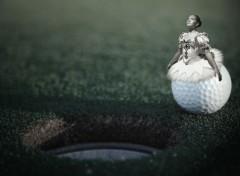 Wallpapers Digital Art danseuse de golf