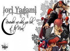 Fonds d'écran Manga Iori Yagami !