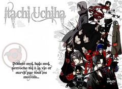 Fonds d'écran Manga Itachi Uvhiha !