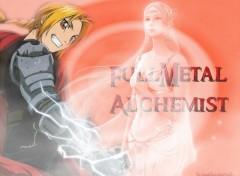 Fonds d'écran Manga full metal achemist et elfe