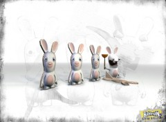 Wallpapers Video Games lapins crétins