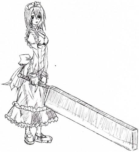 Wallpapers Art - Pencil Manga - Miscellaneous Innocente