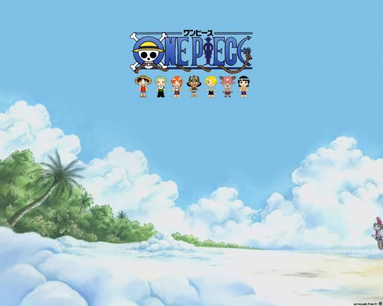 Fonds d'écran Manga One Piece Skypeia Arrival