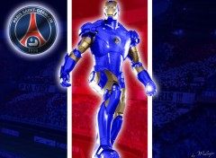 Wallpapers Sports - Leisures Iron Man PSG