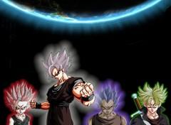 Fonds d'écran Manga Dark Saiyan