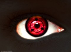 Wallpapers Manga Sharingan/ 3eme stade