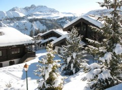 Wallpapers Constructions and architecture courchevel sous la neige
