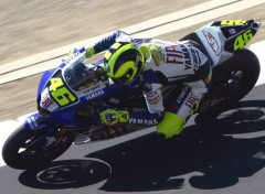 Wallpapers Motorbikes Rossi Donington Park 2007_02