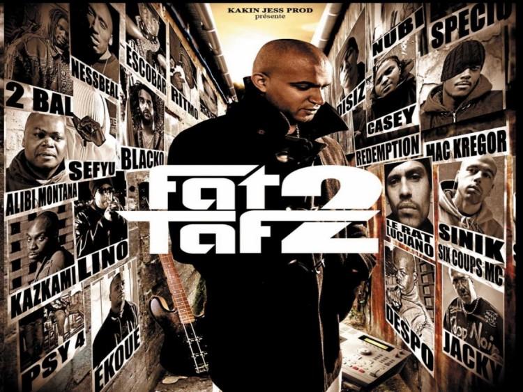 Fonds d'écran Musique Divers Rap Fat Taf 2