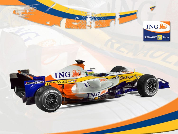 Wallpapers Sports - Leisures Formule 1 RENAULT F1 TEAM (ING)
