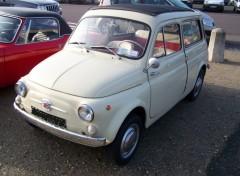 Wallpapers Cars Fiat 500 jardinière
