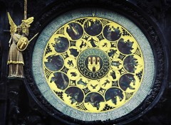 Fonds d'écran Voyages : Europe Horloge astronomique à prague