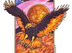 Fonds d'écran Art - Peinture Phoenix