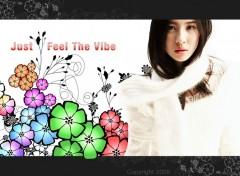 Fonds d'écran Célébrités Femme Asian Vibes