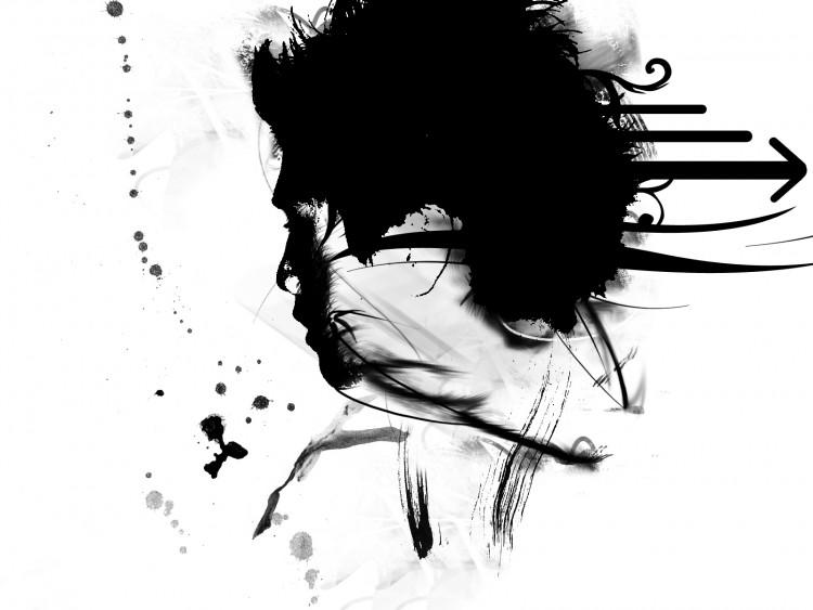 Fonds d'écran Art - Numérique Noir & Blanc Asuke on AEJI