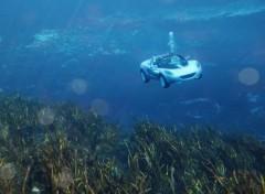 Fonds d'écran Voitures rinspeed sQuba tjr sous l'eau
