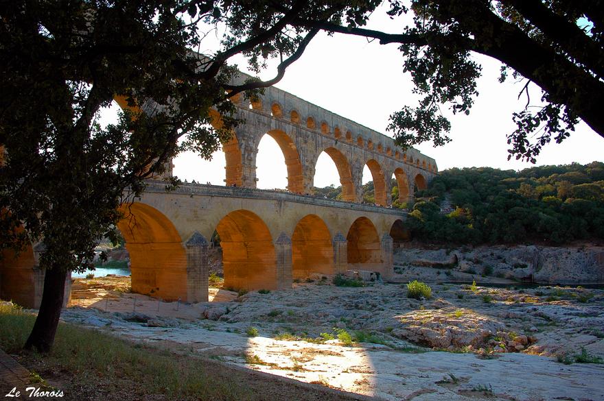 Wallpapers Trips : Europ France > Languedoc-Roussillon Pont du Gard
