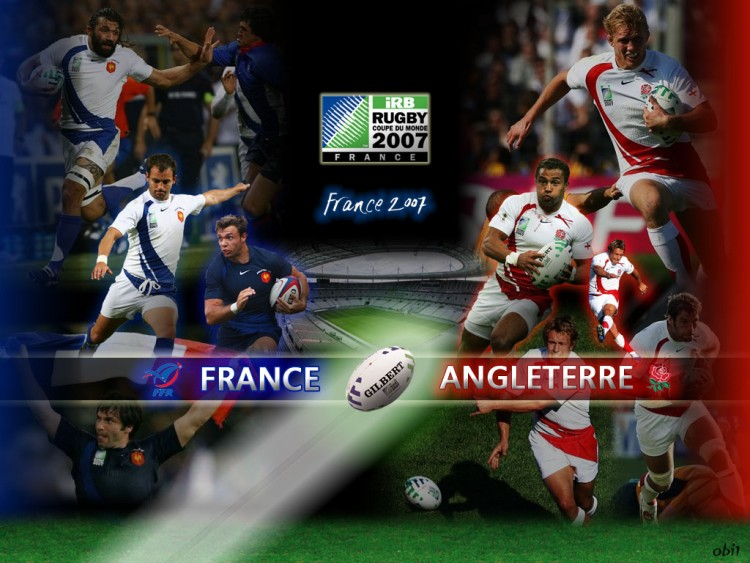 Wallpapers Sports - Leisures Rugby CdM Rugby 2007 - France/Angleterre