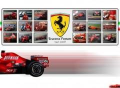 Fonds d'écran Sports - Loisirs Scuderia Ferrari - 1947~2008