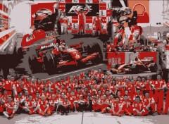 Wallpapers Sports - Leisures Scuderia Ferrari - Shangaï 2007