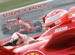 Wallpapers Sports - Leisures Schumi is Back - Test Barcelone 2007