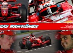 Fonds d'écran Sports - Loisirs Kimi Raikkonen 2007