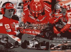 Wallpapers Sports - Leisures Schumi - Forever the Best