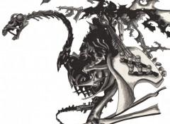 Wallpapers Art - Pencil Cavalier noir